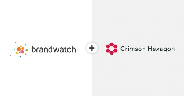 Brandwatch & Crimson Hexagon merge to create new AI-driven products to help decision-maker better understand their consumers