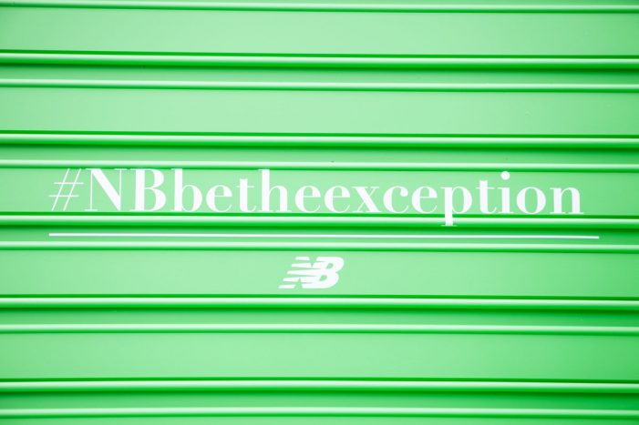 New Balance's #BeTheException Activation Uses AI to Spot Trendsetters
