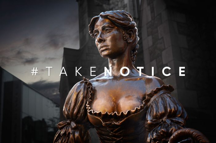 ROTHCO creates a striking campaign to urge people to #takenotice this Breast Cancer Awareness month