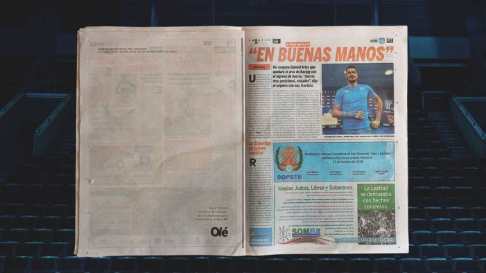 "Olé team with Y&R Argentina to pay tribute to the best Argentinian basketball player ever, ""Manu"" Ginóbili"