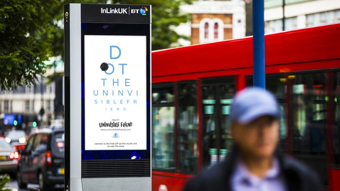 Eye cancer charity launches 'Uninvisible Friend' campaign on World Sight Day