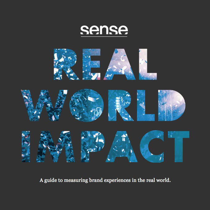 Sense launches guide to measuring the effectiveness of experiential marketing campaigns