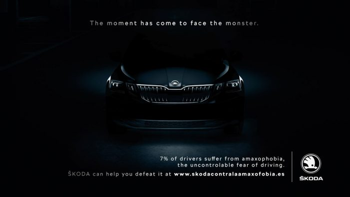ŠKODA raises awareness about amaxophobia in new Halloween campaign by Proximity Barcelona