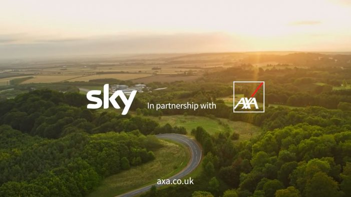AXA teams with Sky and News UK on cross platform sponsored content project