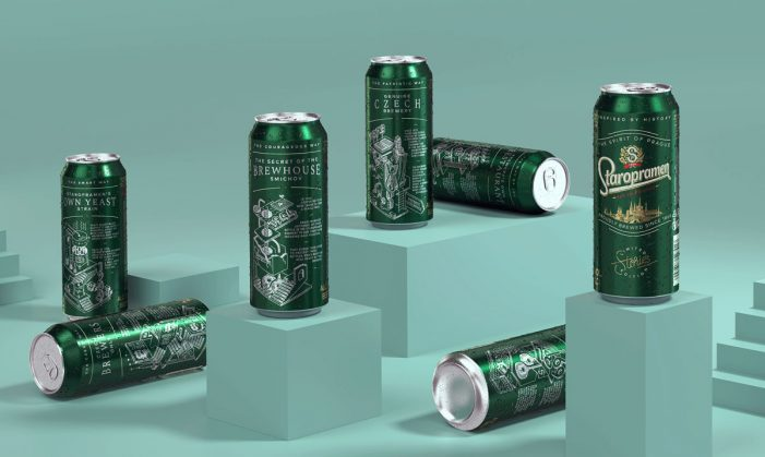 Staropramen's Limited Edition Campaign by Cocoon Prague Bring its History to Life Through Illustrations