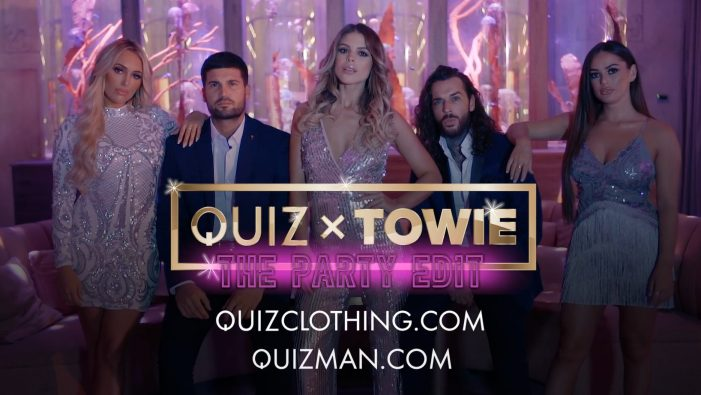 Fashion retailer QUIZ appoints Media Agency Group and TOWIE for TV campaign