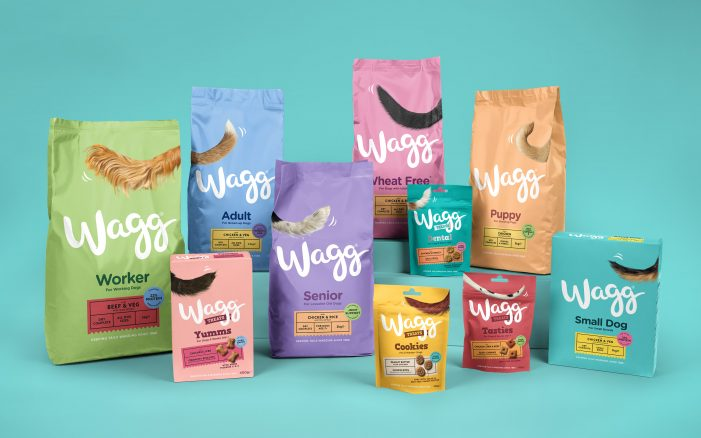 Wagg Sets Tails Going with a Rebrand by Robot Food