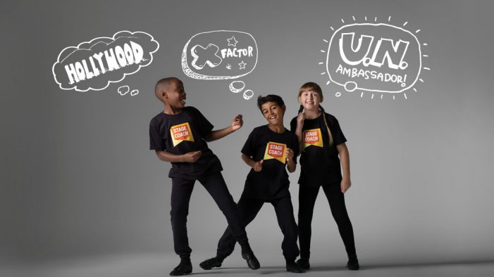 Global performing arts school Stagecoach appoints Five by Five for brand refresh