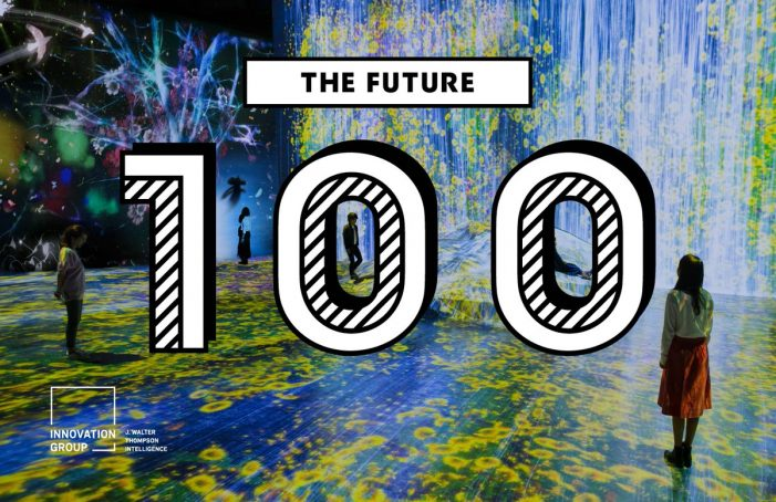J. Walter Thompson Innovation unveils their Future 100 annual trends report