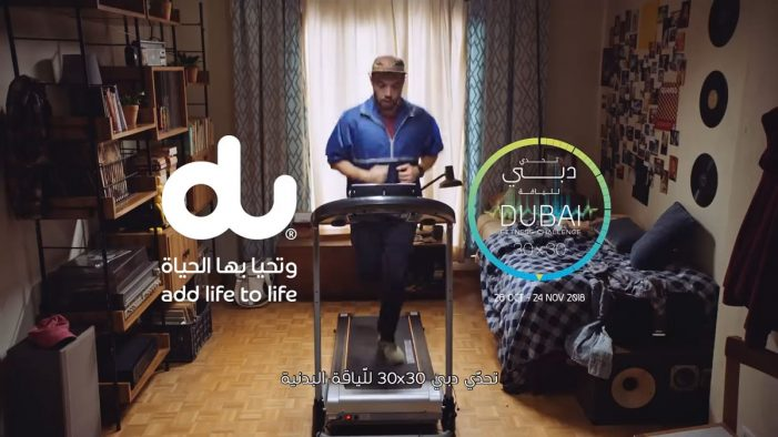 TBWA\RAAD helps du spread awareness on the Dubai Fitness Challenge 2018