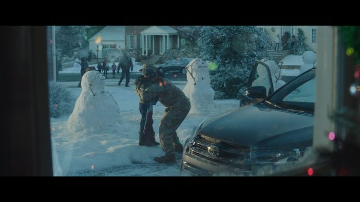 Toyotathon returns home for the holidays with heartwarming new ad by Saatchi & Saatchi