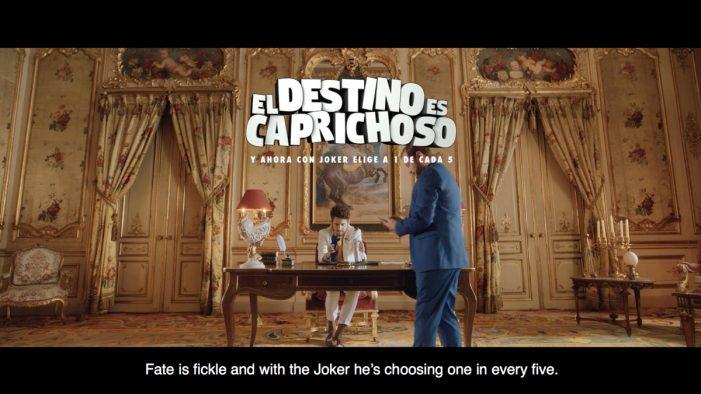 Proximity Madrid unveils new campaign for Loterías y Apuestas del Estado's Joker