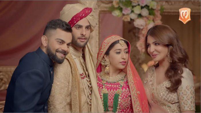 Virat Kohli and Anushka Sharma return as Manyavar unveils sequel to its 'Virushka' ad