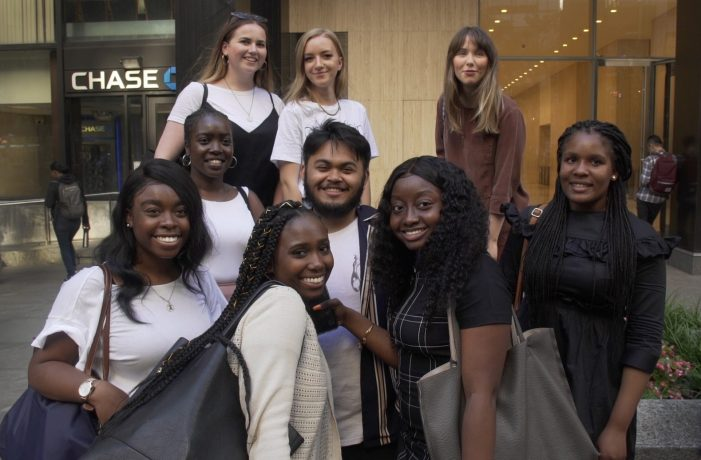 Students celebrate diversity and inclusion in design through Jay Z's NY-LON Exchange Program