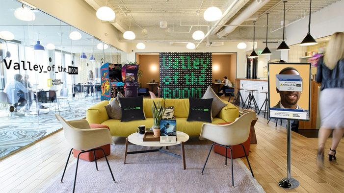 "National Geographic and WeWork partner to bring ""Valley of the Boom"" experience to members"