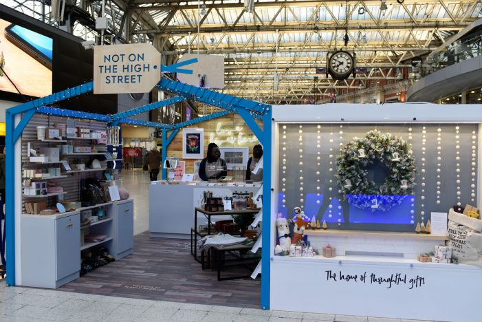 Notonthehighstreet announces two pop-ups for Christmas 2018
