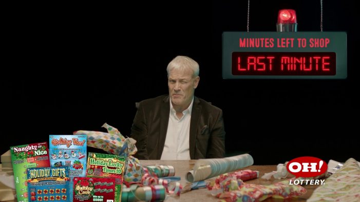 Marcus Thomas launches new 'It's Never Too Late' holiday campaign for the Ohio Lottery