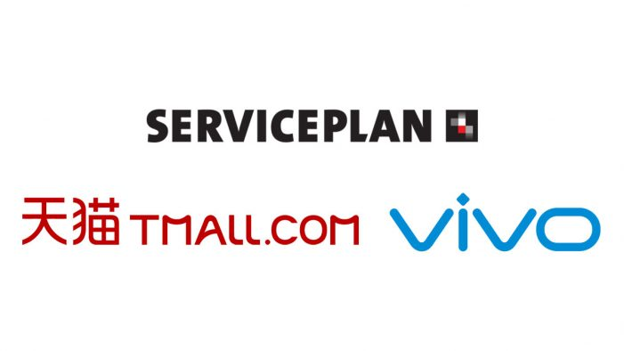 Serviceplan Greater China win Tmall and VIVO business