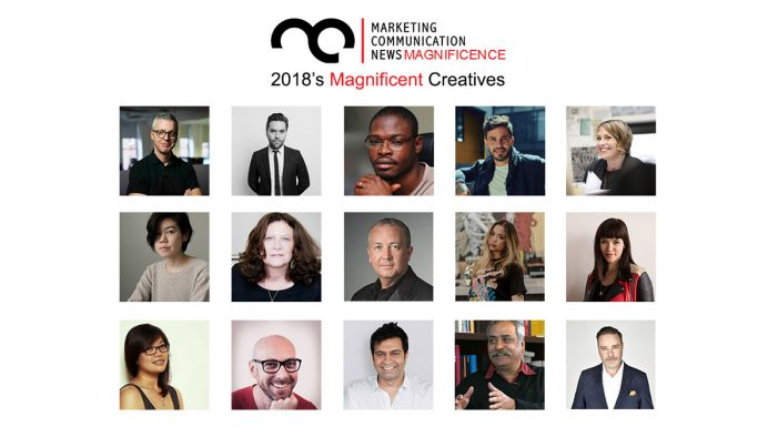 MarComm's Magnificence – 2018's Magnificent Creatives
