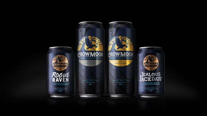 Bluemarlin Unveils a Legendary Rebrand for Crowmoor Cider