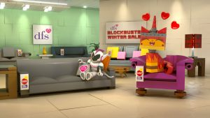 Wondrous Characters From The Lego Movie 2 Star In New Dfs Winter Sale Caraccident5 Cool Chair Designs And Ideas Caraccident5Info