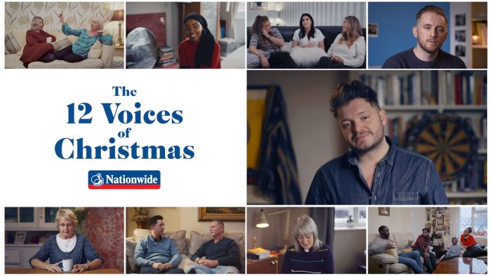 Nationwide launches '12 Voices of Christmas' ads by VCCP