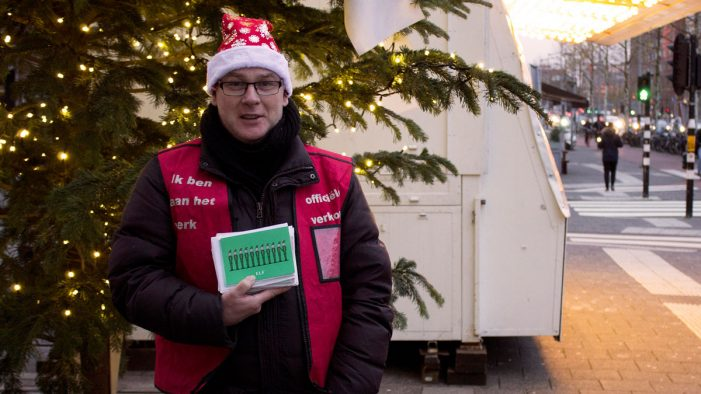 Iris Amsterdam hits the streets with agency Christmas card