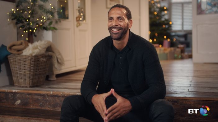 Stars of Channel 4 and ITV reveal the Christmas moments that matter most to them in latest BT campaign