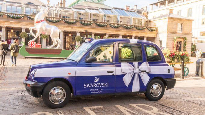 Swarovski spreads the sparkle this Christmas with a host of new experiential marketing activations
