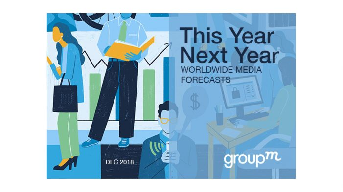 Ad budgets won't grow as much as expected in 2019, according to GroupM's Ad Forecast