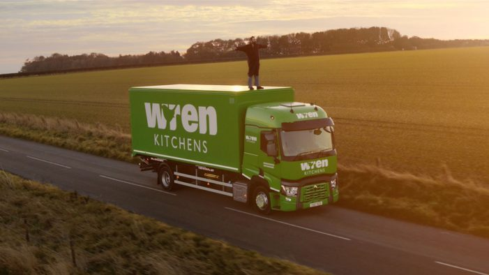 Tribal Worldwide unveils new Wren Kitchens ad showing love affair between customer & his new kitchen