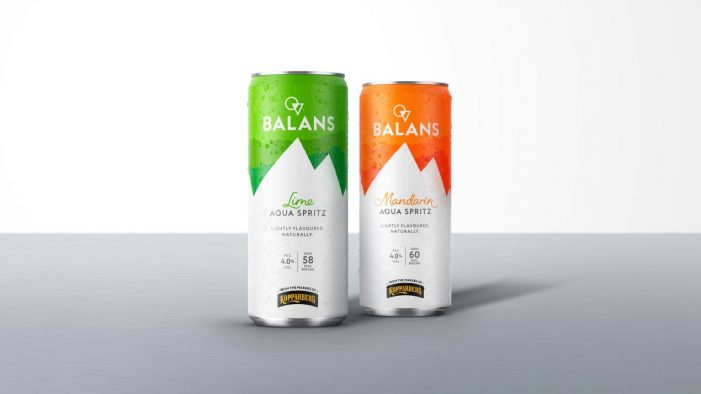 Elmwood Brands Kopparberg's New Drinks Concept, Balans Aqua Spritz