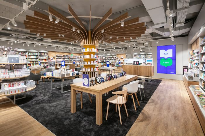 JHP reinvents Thalia's retail venues with new book store design