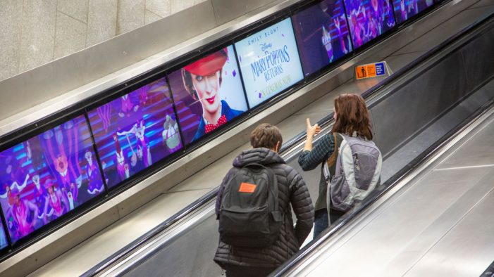 Transport for London's ad revenue increases as innovative advertising platforms are introduced