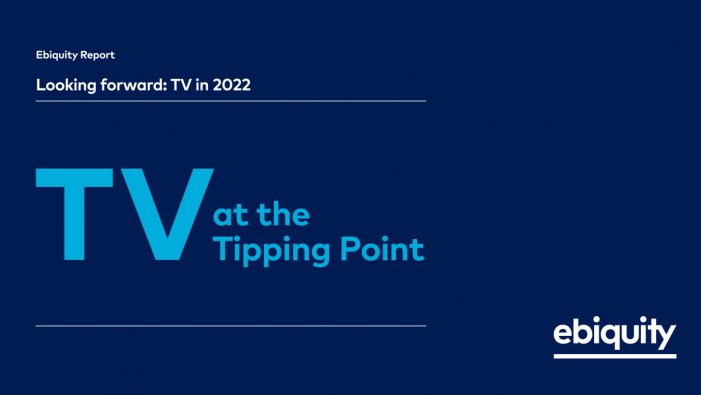 TV at the tipping point, according to a new Ebiquity report