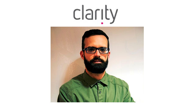 Clarity boosts creative department with the appointment of new Creative Director
