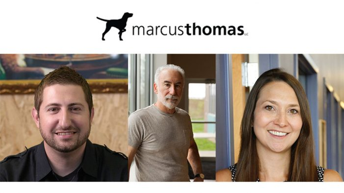 Marcus Thomas Bolsters Creative Team with Three Promotions
