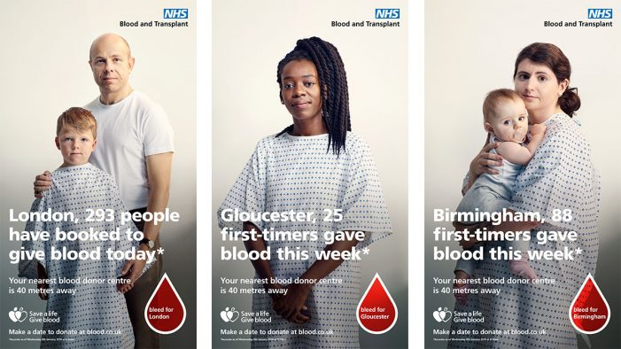 NHS Blood & Transplant harness live data and real recipients to encourage regular blood donation