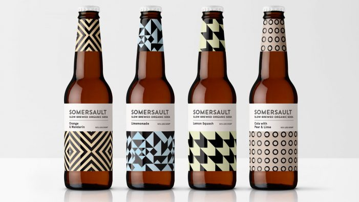 Denomination Gives Adult Soda Brand Somersault Extra 'Pop'