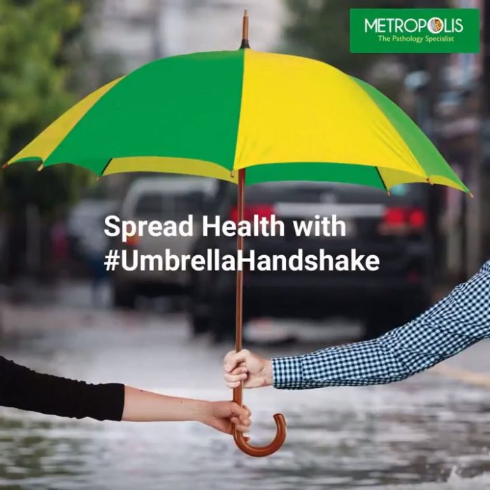 Metropolis teams with VURoll for their #MyHealthMyUmbrella campaign