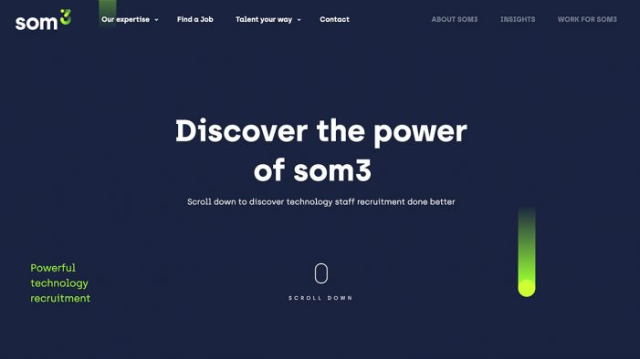 som3 chooses Ultimate to create a cutting-edge brand and website
