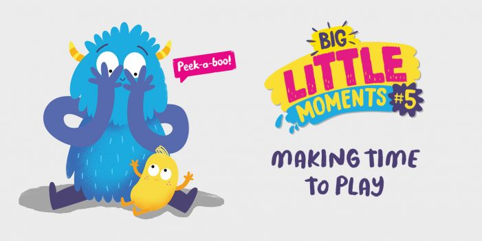 The National Lottery Community Fund promote simple caregiving actions that benefit childhood development