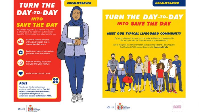 New 'Bealifesaver' campaign launched to increase leisure sector workforce diversity