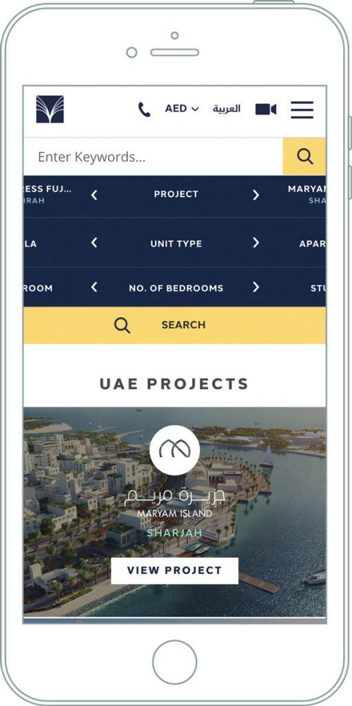 Crowd creates an award-winning website for luxury property