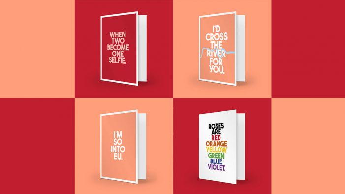 LIDA reimagines Valentine's for 2019 with inclusive range of cards