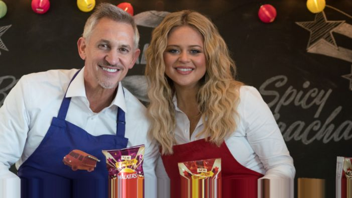 Walkers Injects Extra Flavour into Latest Marketing Campaign with Gary Lineker and Emily Atack