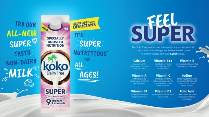 Koko Dairy Free coconut milk appoints Southpaw as lead creative comms agency
