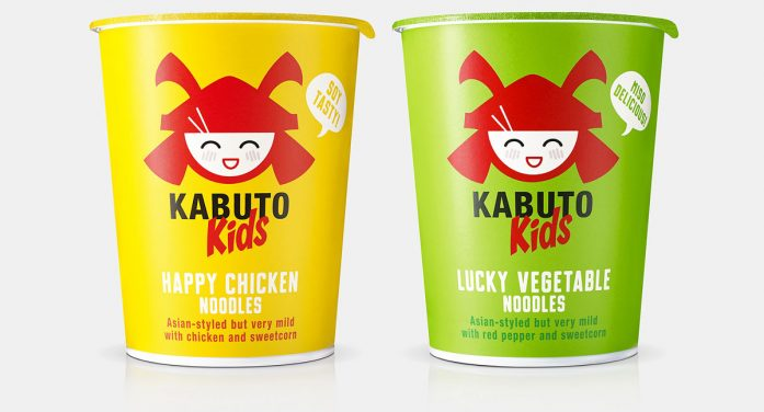 B&B studio builds on success of Kabuto Noodles with design for new kids' range