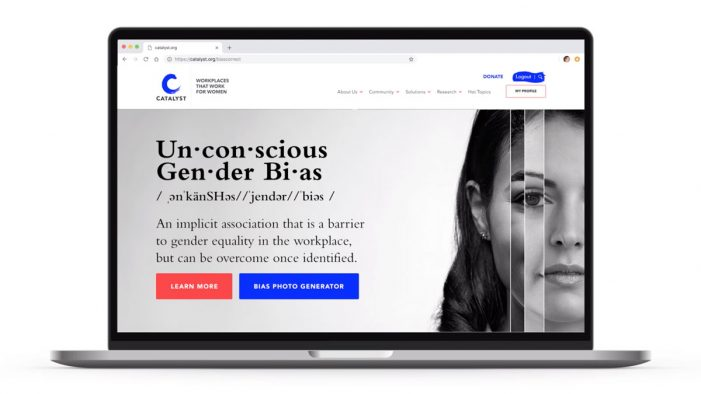 Catalyst launches #BiasCorrect campaign to tackle unconscious gender bias in the workplace on Women's Day