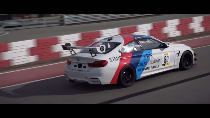 Professional racecar driver Aurora Straus stars in BMW's 'Power has Come a Long Way' ad by Serviceplan